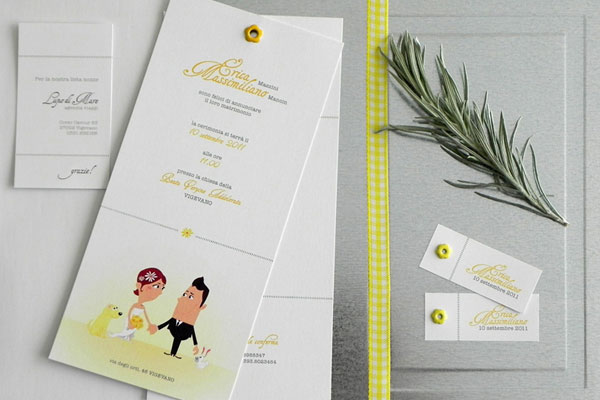 Dog Wedding Invitations
